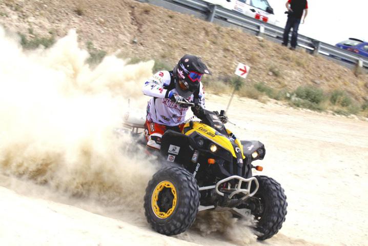 Llegada Raid 500 Extrem Fuentes de Ebro 2011